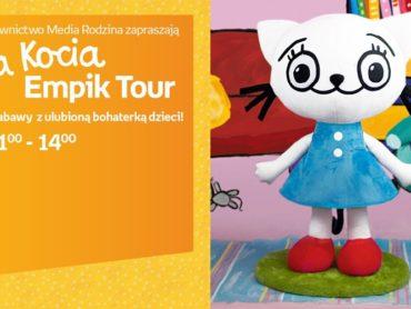Kicia Kocia rusza w tournée po 8 miastach w Polsce. Sprawdź, gdzie ją spotkasz!