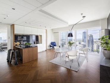 Nowy apartament GLACE na 29 piętrze ZŁOTEJ 44, czyli klasyka  w nowoczesnym wydaniu
