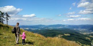 wyjazd w góry z dzieckiem