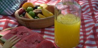 jedzenie w lecie